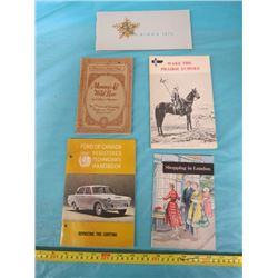 LOT OF MISCELLANEOUS CATALOGUES