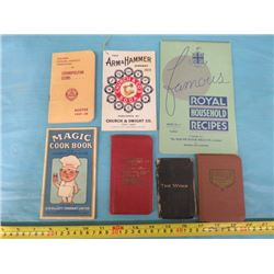 LOT OF ADVERTISING PAPERS (ARM AND HAMMER, OGILVIE FLOUR MILL, E.W. GILLETTE, ETC…)