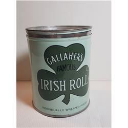 GALLAHERS IRISH ROLL TOBACCO (GREAT CONDITION)