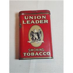 UNION LEADER POCKET TIN