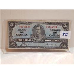 5 DOLLAR BILL (1937)