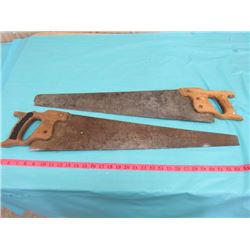 TWO HAND SAWS