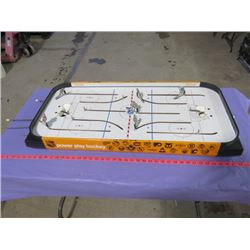 "COLECO TABLE TOP HOCKEY GAME (36"" X 17"" X 3.5"")"