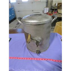 "METAL BUTTER CHURN (GSW QUALITY GOODS) *14"" TALL*"