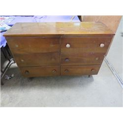 "1960'S 6 DRAWER DRESSER (48.5"" X 16.5"" X 33"") *PINTEREST PROJECT*"