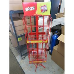 "SLIM JIM DISPLAY RACK (51.5"" X 9"" X 14.4"")"