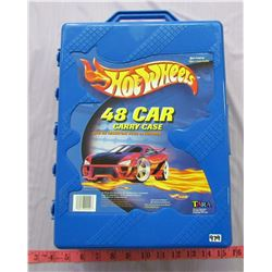 HOT WHEEL COLLECTOR CAR CARRY CASE (FULL OF TOY CARS)