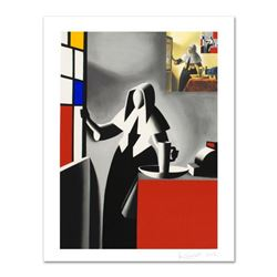"""Mark Kostabi, """"Progress Of Beauty"""" Limited Edition Serigraph, Numbered and Hand Signed with Certific"""