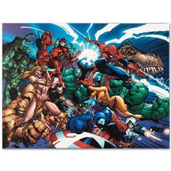 """Marvel Comics """"Marvel Comics Presents #1"""" Numbered Limited Edition Giclee on Canvas by J. Scott Camp"""