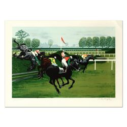 """Pierre Charles Bayle, """"The Hedge"""" Limited Edition Lithograph, Numbered and Hand Signed."""