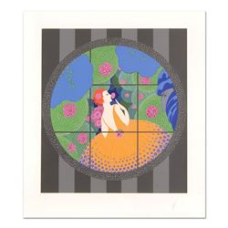 """Erte (1892-1990), """"Winter Flowers"""" Limited Edition Serigraph, Numbered and Hand Signed with Certific"""