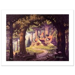 """""""Rivendell"""" Limited Edition Giclee on Canvas by The Brothers Hildebrandt. Numbered and Hand Signed b"""