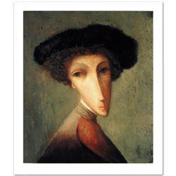 "Legendary Russian Artist Sergey Smirnov (1953-2006). ""Ambassador"" Limited Edition Giclee, Numbered a"
