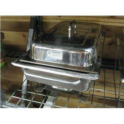 METAL CHAFING DISH WITH LID