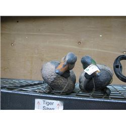 TWO DUCK DECOES