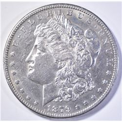 1879-S REV OF 78 MORGAN DOLLAR  AU/BU