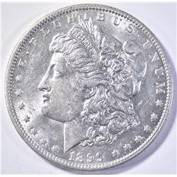 1899-O MICRO O MORGAN DOLLAR  AU/BU