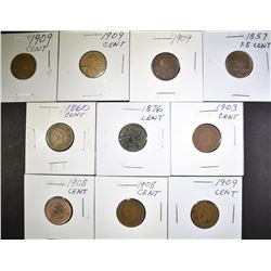 SMALL CENT MIXED LOT