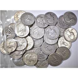 $10.00 FACE VALUE MIXED 90% SILVER COINS