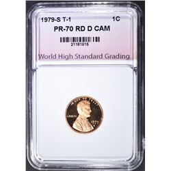 1979-S T-1 CENT WHSG PERFECT GEM PR RD DCAM