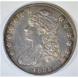 1835 BUST HALF DOLLAR  CH AU  OLD CLEANING
