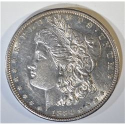1884-S MORGAN DOLLAR  UNC  OLD CLEANING