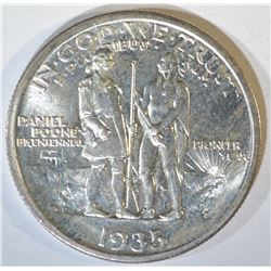 1935-S BOONE COMMEM HALF DOLLAR  GEM BU