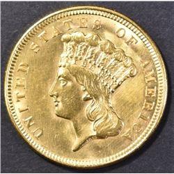 1856 $3.00 GOLD CH BU