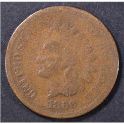 1866 INDIAN CENT GOOD