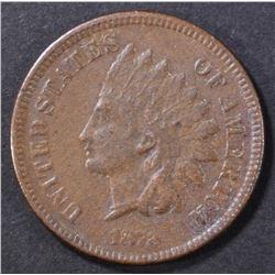 1872 INDIAN CENT VF/XF SOME POROSITY