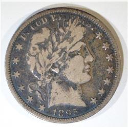 1895-O BARBER HALF DOLLAR  SOLID FINE  KEY