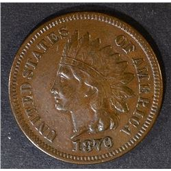 1870 INDIAN CENT  XF