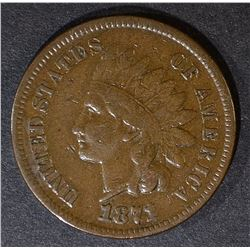 1871 INDIAN CENT  F/VF