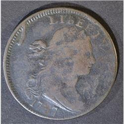 1797 LARGE CENT  VF+