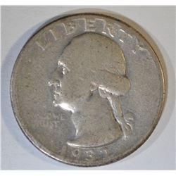 1932-D WASHINGTON QUARTER  FINE