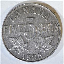 1925 CANADA NICKEL  VF