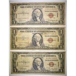 3-1935 HAWAII $1.00 SILVER CERTIFICATES