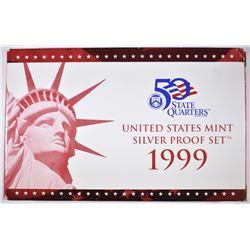 1999 U.S. SILVER PROOF SET IN ORIG PACKAGING