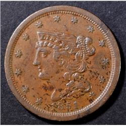 1851 HALF CENT XF