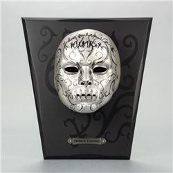Helena Bonham Carter Autographed Harry Potter Death Eater Mask Bellatrix