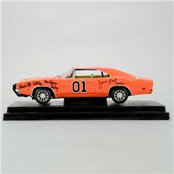 Schneider, Bach, Wopat, Best, Barris, Colley, Cast Autographed The Dukes of Hazzard 1:18 Scale Die-C