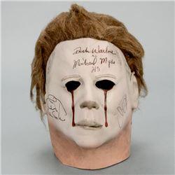 Jamie Lee Curtis, John Carpenter, Dick Warlock Autographed Halloween II 1:1 Scale Prop Replica Blood
