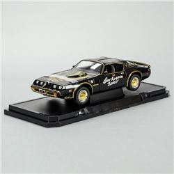 Burt Reynolds Autographed Exclusive Smokey and the Bandit II 1:18 Scale Die-Cast Pontiac Trans Am
