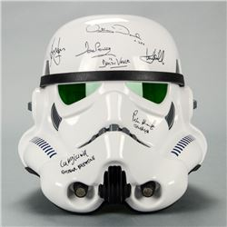 Harrison Ford, Mark Hamill, David Prowse Star Wars Cast Autographed EFX 1:1 Scale A New Hope Stormtr