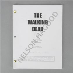 The Walking Dead Original Episode #210A '18 Miles Out' Draft Production Script *Features Rick and Sh