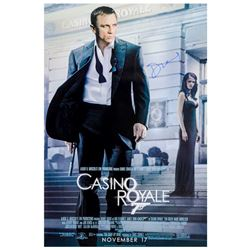 Daniel Craig Autographed 2006 James Bond Casino Royale Original 27x40 Single-Sided Movie Poster