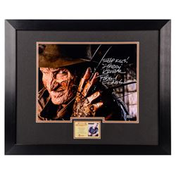 Robert Englund Autographed Freddy Krueger 11x14 Framed Close Up Photo