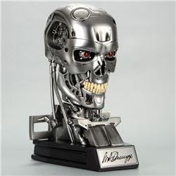 Arnold Schwarzenegger Autographed Terminator T-800 Endoskeleton 1:1 Scale Bust