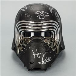 Harrison Ford, Mark Hamill, Adam Driver, Star Wars: The Force Awakens Cast Autographed Kylo Ren Blac