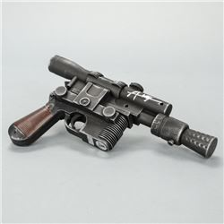 Alden Ehrenreich Autographed Star Wars Han Solo 1:1 Scale DL44 Prop Replica Blaster